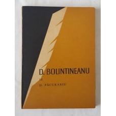 D. Pacurariu - D. Bolintineanu