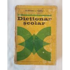Dumitru I. Hancu - Dictionar scolar