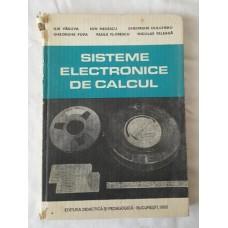 Sisteme electronice de calcul