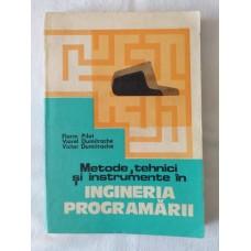F. Pilat V. Dumitrache - Metode tehnici si instrumente in Ingineria programarii