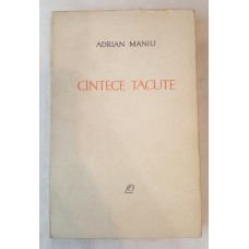 Adrian Maniu - Cantece tacute