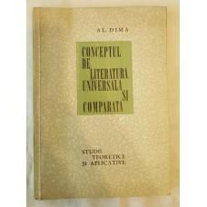 Al. Dima - Conceptul de literatura universala si comparata