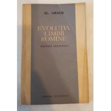 Al. Graur - Evolutia limbii romane