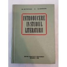 Al. Bistritianu C. Boroianu - Introducere in studiul literaturii