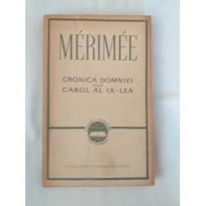 Merimee - Cronica domniei lui Carol al IX-lea