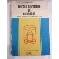 G. Gheba - Exercitii si probleme de matematica pentru concursurile de admitere in licee
