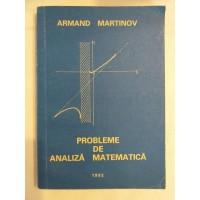 A. Martinov - Probleme de analiza matematica