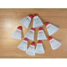 Fluturasi de badminton - set 10 bucati