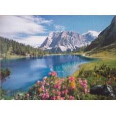Puzzle Castorland Lac in Alpi